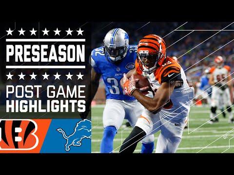 Bengals vs. Lions | Game Highlights | NFL
