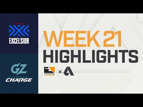Akshon Highlights   New York Excelsior vs Guangzhou Charge   Week 21   APAC Day 2