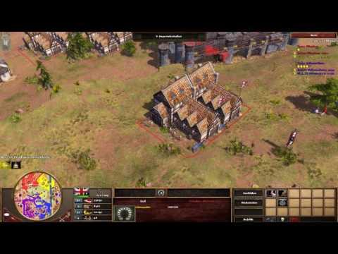 Age of Empires III Multiplayer - 2vs2 mit Vertrag #3 [Deutsch/Full HD]