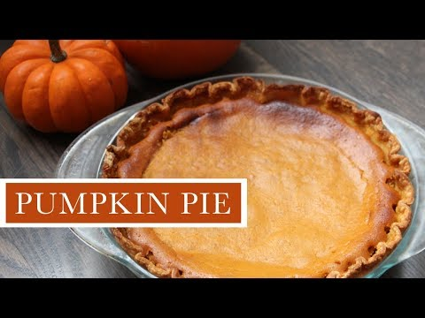 A Quick And Easy Pumpkin Pie Recipe | The Perfect Thanksgiving Dessert