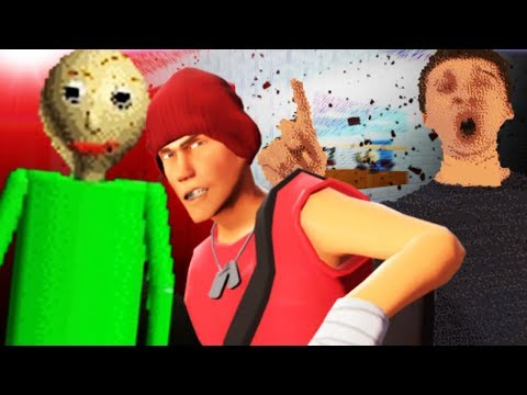 SETTING TRAPS FOR BALDI IN HIS SCHOOL?! (Garry's Mod Gameplay Gmod Roleplay) BALDI SURVIVAL! thumbnail