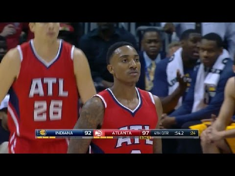 Jeff Teague - 25 pts, 6 asts vs Pacers Full Highlights (2014.11.01)