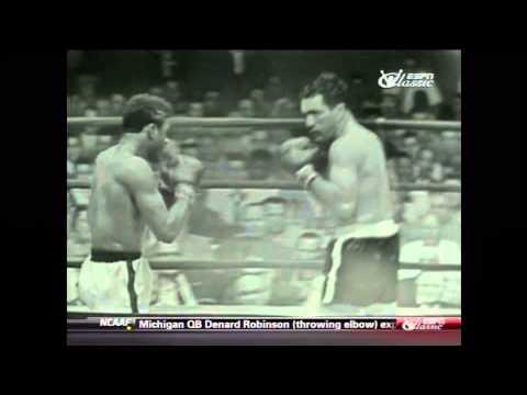 June 1954:Floyd Patterson vs Joey Maxim