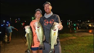 Lake Chickamauga Tournament Bass Fishing with my Wife