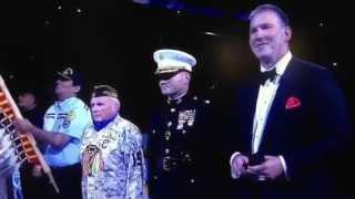 Jim Cornelison sings the National Anthem @ United Center 6/15/15
