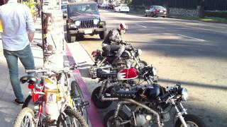 z50 Honda monkey bike drift and crash skyteam 125cc