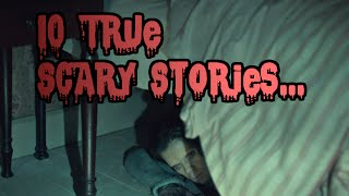 10 Really CREEPY True Stories