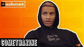 Comethazine Explains his Most Painful Tattoo and Talks Bawskee | Audiomack Ink