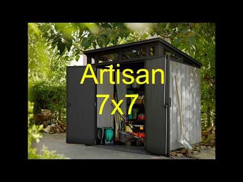 How To Artisan 7x7 Duotech Sheds Keter Doovi