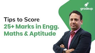 Join Live Session for Tips to Score 25+ Marks in Engineering Maths & General Aptitude