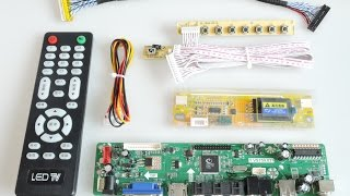 sintron lcd replacement how to wire controller lvds inverter