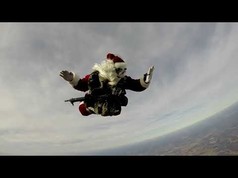 West Tennessee Skydiving Santa Skydive