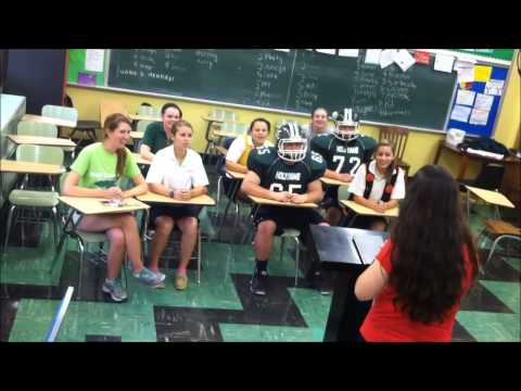 Holy Name High School Padua Rally Video 2013
