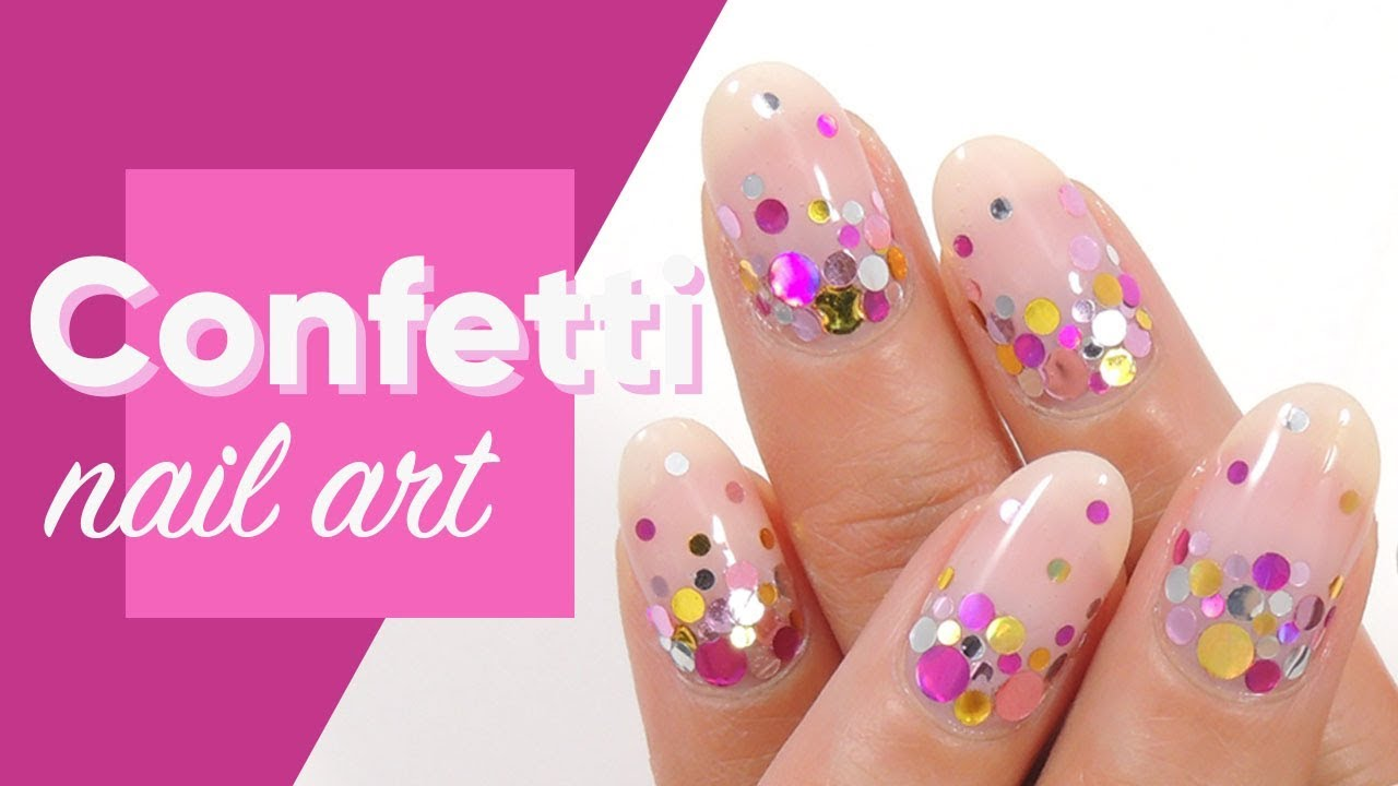 How To Use Confetti On Nails Ipsy Nailed It