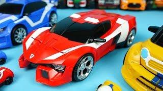 TOBOT Cars Alpha Beta Theta transformers car toys 또봇 알파 베타 세타