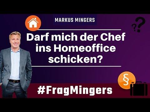 Darf mich der Chef ins Homeoffice schicken?   #FragMingers