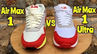c23a54c3ea1 Air Max 1 Ultra Flyknit Midnight Maroon On feet Video at Exclucity ...