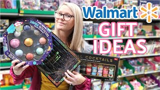 WALMART SHOP WITH ME // CHRISTMAS GIFT IDEAS 2019