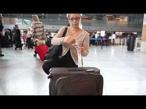 How to check-in your baggage at Helsinki Airport  | Finavia