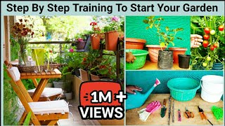 ऐसे होगा आपका घर गार्डन गार्डन Complete Training Of terrace And Vegetable Garden Setup For Beginners