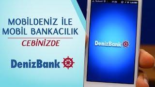 MobilDeniz ile Mobil Bankacılık Cebinizde! - DenizBank