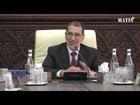Saad Eddine El Othmani préside la réunion du conseil de gouvernement