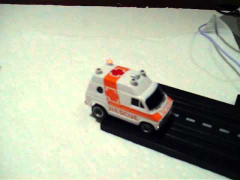 Rescue slot car