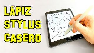 ✔ Cómo Hacer Un Lapiz Stylus | How To Make A Pencil Stylus