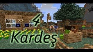 Minecraft :  4 Kardeş Türk Filmi [Gülmek Garanti] [HD]