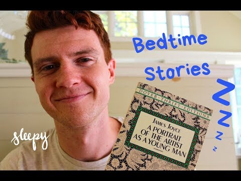 ASMR Sleepy Bedtime Reading – Soft Spoken, Deep Voice, Page Turning, Read To Sleep