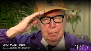 Every history teacher needs to watch this video, A Military Minute®, WWII Bulge Vet Dr. John Magill