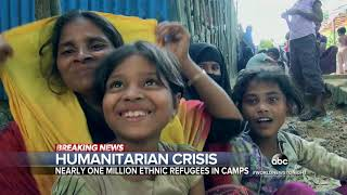 Aid groups work to help the Rohingya minority fleeing attacks by the Myanmar government