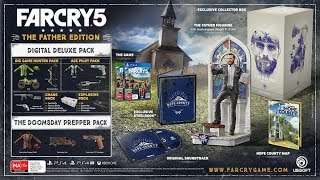 Upcoming Far Cry 5 Father Edition  & Statue