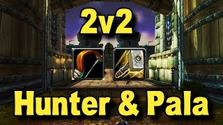 Wow 5.4.8 Ret Paladin Arena 2v2 with MM Hunter!