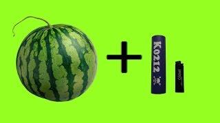 Большой взрыв арбуза динамитом! Watermelon vs firecracker!