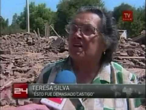 Doñihue / Donihue tras el terremoto, Chile | Noticias TVN 18 Marzo 2010