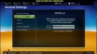 RESET- SENHA JQE 360 - FREESTYLE 775 - LINK UP - XBOX360 RGH