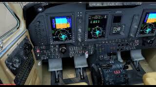 Carenado B350i King Air in P3D v4 2 on June 9,
