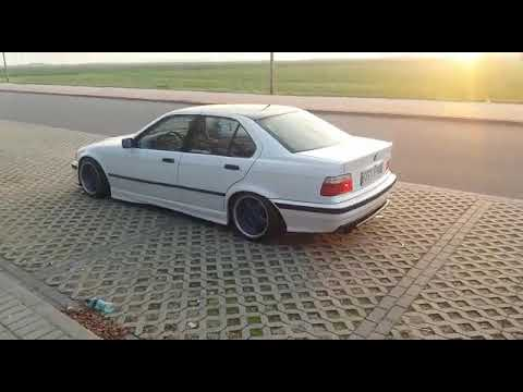 White Bmw E36 German Style Youtube