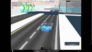 roblox burnout madness III cool podracer flying stunt!!