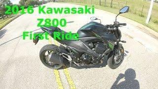 2016 kawasaki z800 first ride   review