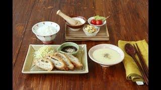 밀푀유돈까스 정식 만들기 : Pork cutlet Dining table [밥타임]