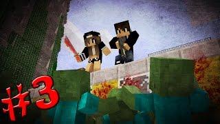 КАК ВЫЖИТЬ С ДЕВУШКОЙ В ЗОМБИ-АПОКАЛИПСИСЕ #3 [Minecraft] - Отстрел Зомби