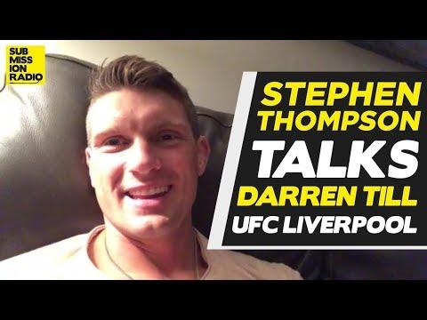 "Stephen Thompson Warns ""Predictable"" & Overconfident Darren Till: ""Don't Underestimate Me"""