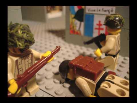 Lego ww2 Battle of Carentan