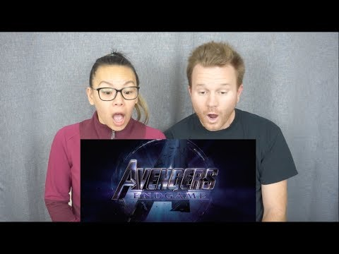 Avengers: Endgame Official Trailer // Reaction & Review