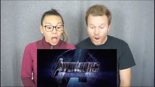 **NEW** Avengers: Endgame Official Trailer // Reaction & Review