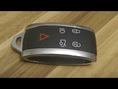 Jaguar XF XFS Key Fob Battery Replacement – DIY
