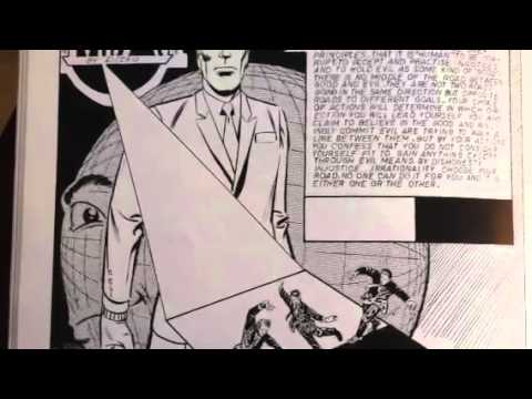 Two minutes with Steve Ditko