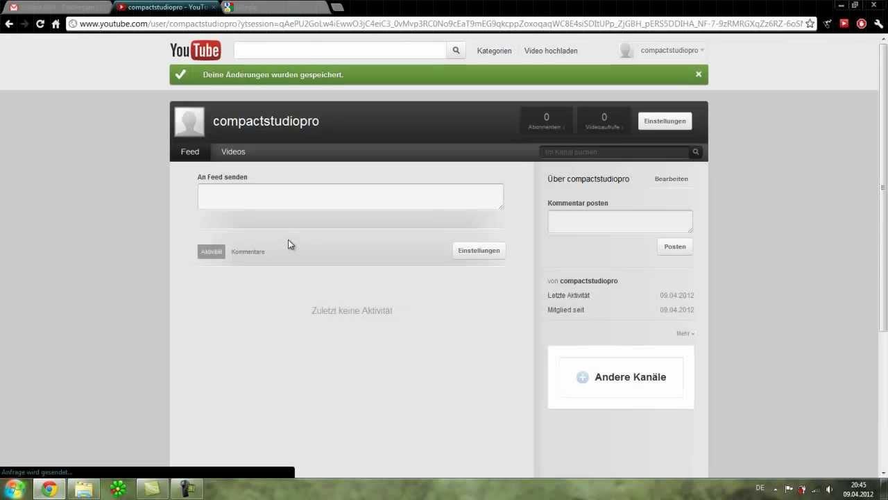Youtube Account Erstellen